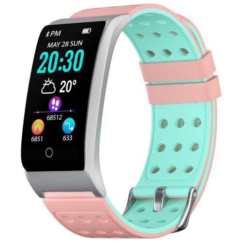 Купить Браслет GSMIN WR42 (2019) розовый/голубой