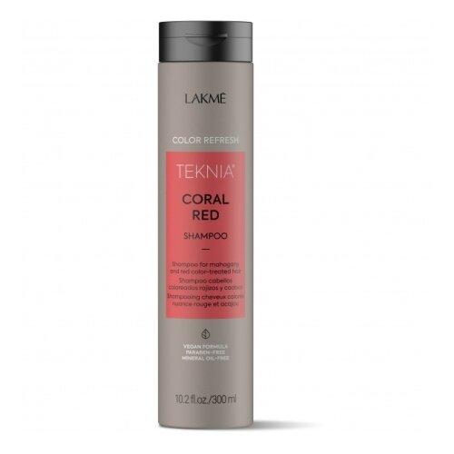 Lakme шампунь Teknia Coral Red Освежающий цвет красных оттенков волос, 300 мл недорого
