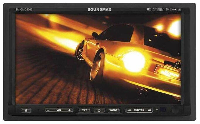 Автомагнитола SoundMAX SM-CMD5003