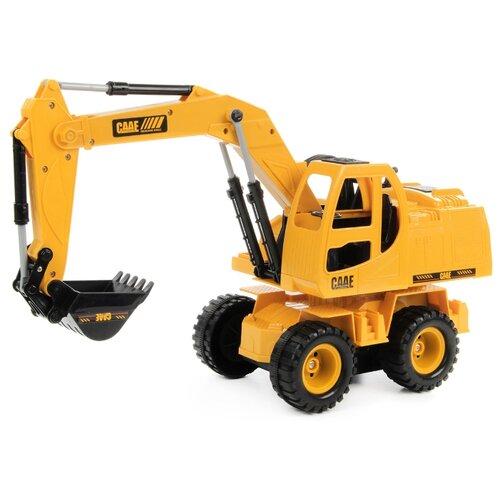 Купить Экскаватор DRIFT 83585 1:24 45 см желтый/черный, Радиоуправляемые игрушки