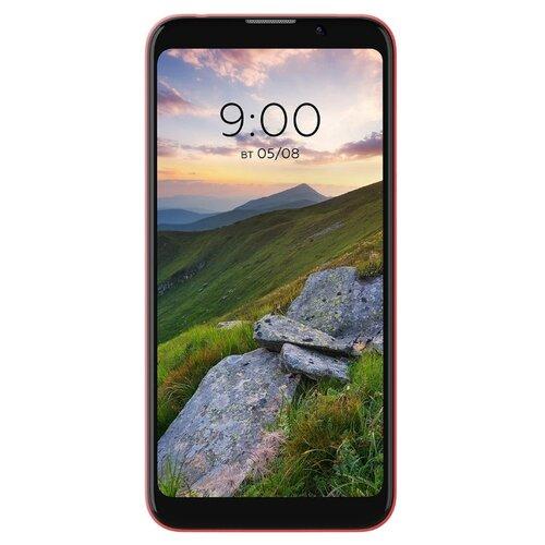 Смартфон BQ 5535L Strike Power Plus красный смартфон