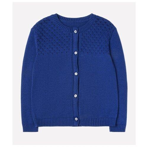 Купить Кардиган crockid размер 98-104, темно-синий, Свитеры и кардиганы