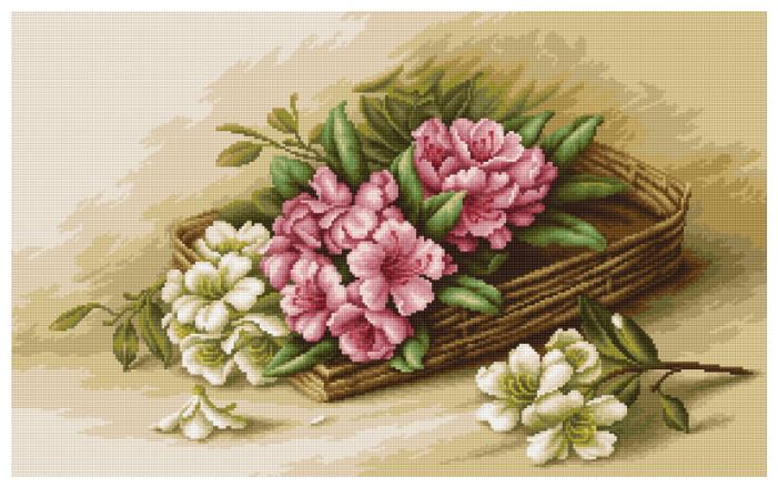 Luca S Набор для вышивания Цветы азалии