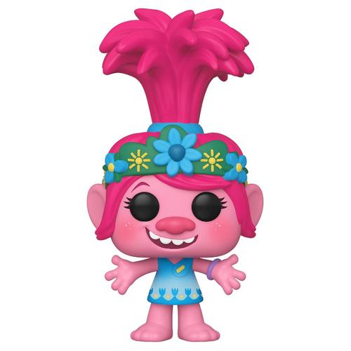 Фигурка Funko POP! Trolls World Tour: Розочка 47000 фигурки героев мультфильмов trolls коллекционная фигурка trolls в закрытой упаковке 10 см в ассортименте