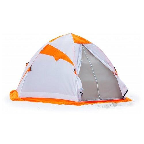 Палатка ЛОТОС 4 для рыбалки оранжевый
