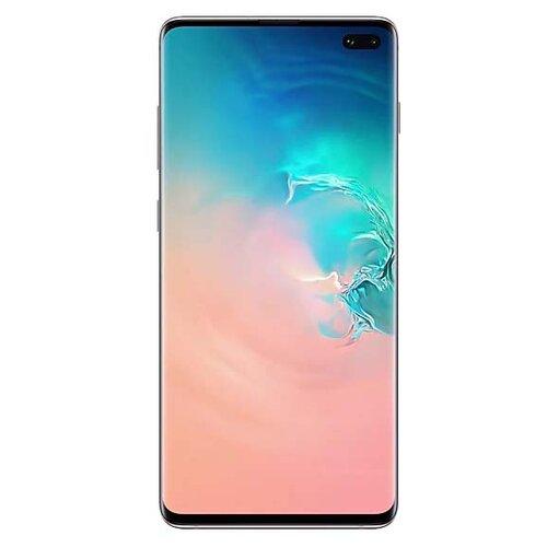 Смартфон Samsung Galaxy S10+ 8/128GB белая керамика (SM-G975FCWDSER) смартфон samsung galaxy s10 8 128gb перламутр sm g975fzwdser