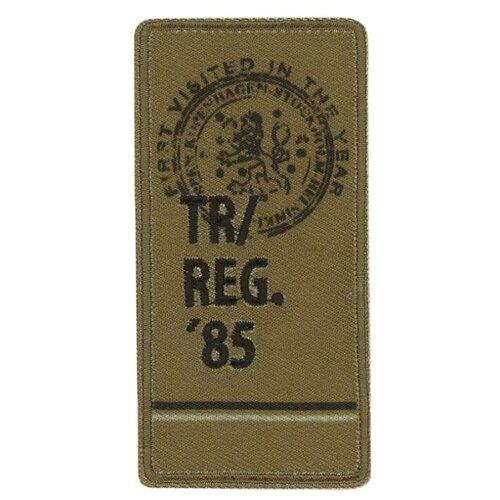Купить Термоаппликация HKM Textil REG 85 3.8 x 7.6 см зеленый, Декоративные элементы