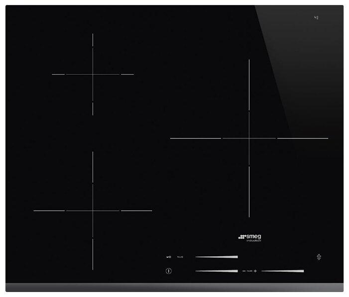 Индукционная варочная панель smeg SI7633B фото 1