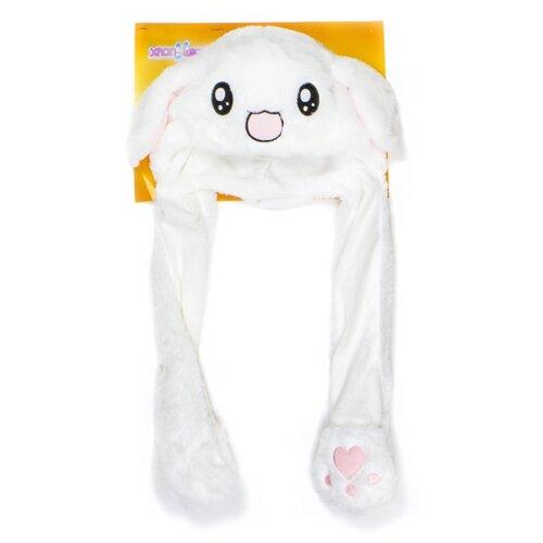Купить Головной убор 1 TOY Хлоп-Ушки Зайчик (Т17636), белый, Карнавальные костюмы