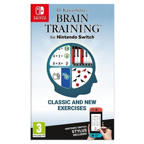 Игра для Nintendo Switch Dr. Kawashima's Brain Training for Nintendo Switch геймпад nintendo switch pro controller