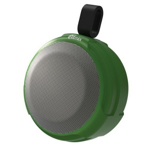 Портативная акустика Ritmix SP-190B зеленый портативная акустика ritmix sp 260b серый