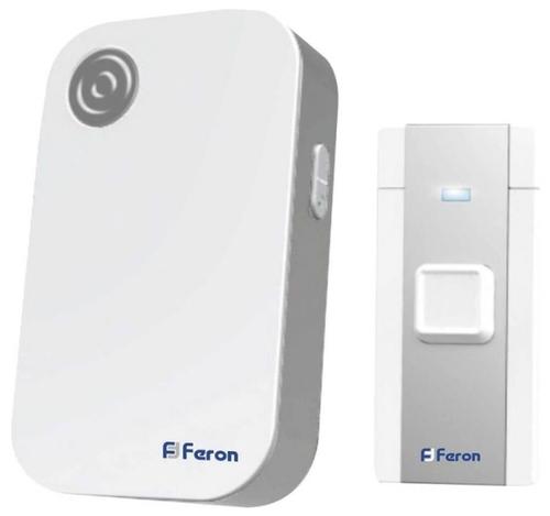 Стоит ли покупать Звонок с кнопкой Feron E-372 электронный беспроводной (количество мелодий: 36)? Отзывы на Яндекс.Маркете