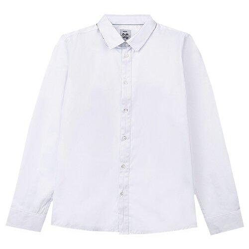 Рубашка playToday размер 146, белый