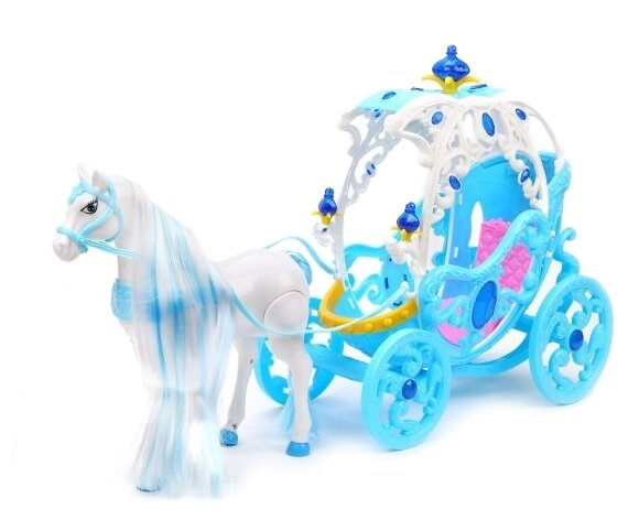 Наша игрушка Карета с лошадью (266B)