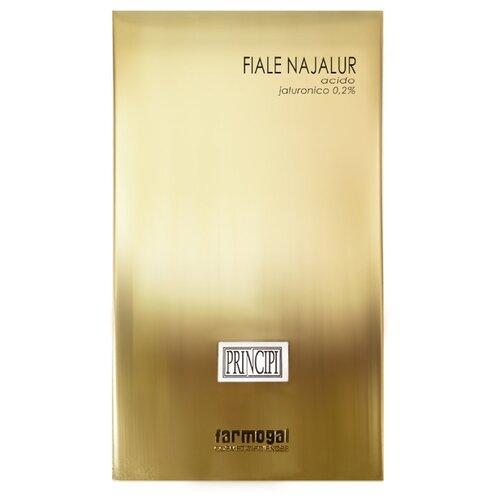 Farmogal Fiale Najalur Концентрат с гиалуроновой кислотой увлажняющий, защитный, регенерирующий, 2 мл (10 шт.)