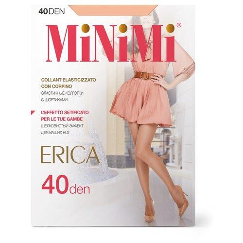 Колготки MiNiMi Erica 40 den, размер 5-XL, caramello (бежевый) колготки minimi avanti 40 den размер 5 xl caramello бежевый
