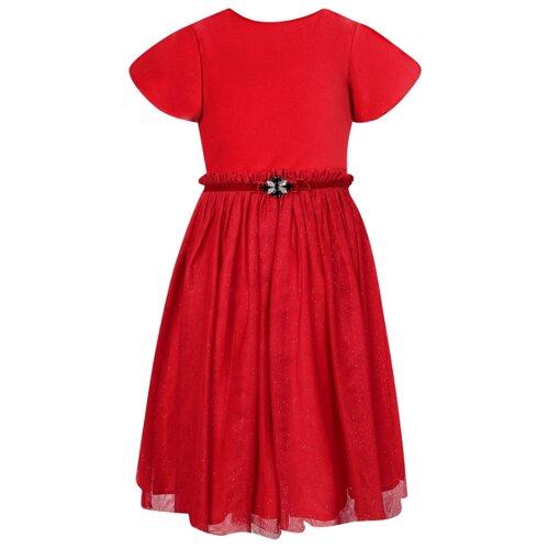 Платье Abel & Lula размер 110, красный