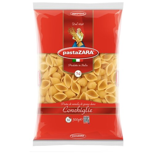 Pasta Zara Макароны 054 Conchiglie, 500 г zara larsson zara larsson so good 2 lp