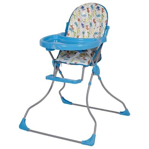 Фото - Стульчик для кормления Polini 152 собачки бирюзовый стульчик для кормления polini 152 розовый