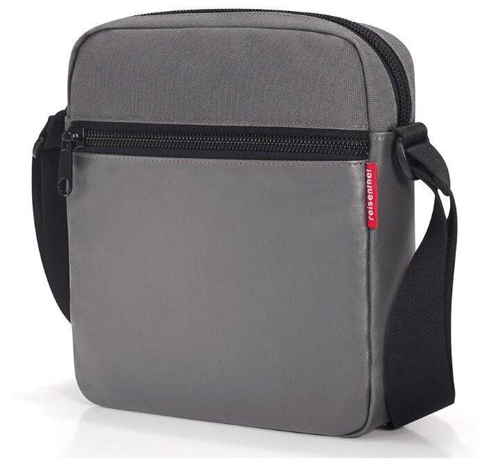 Сумка кросс-боди reisenthel Crossbag canvas UY4061/UY7047/UY7050, текстиль, серый