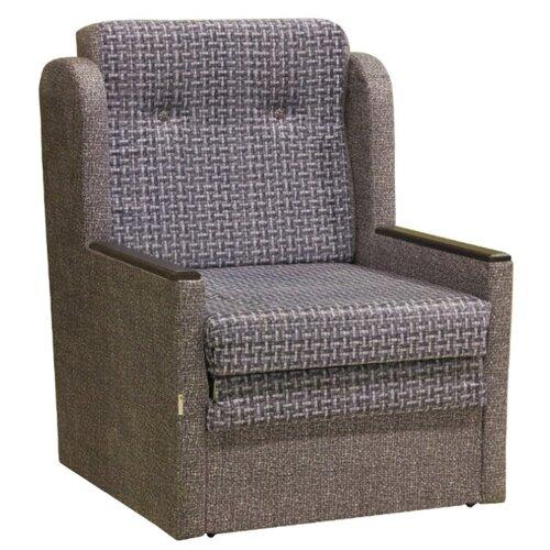Кресло-кровать Шарм-Дизайн Классика Д размер: 77х83 см, , размер спального места: 190х62 см, обивка: ткань, цвет: велюр серый