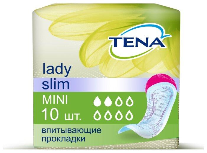 Урологические прокладки TENA Lady Slim Mini 757147 (10 шт.)