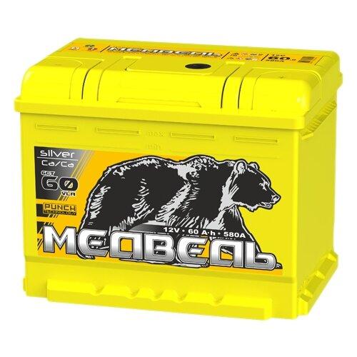 цена на Автомобильный аккумулятор Тюменский медведь 6СТ 60 VLA обратная полярность