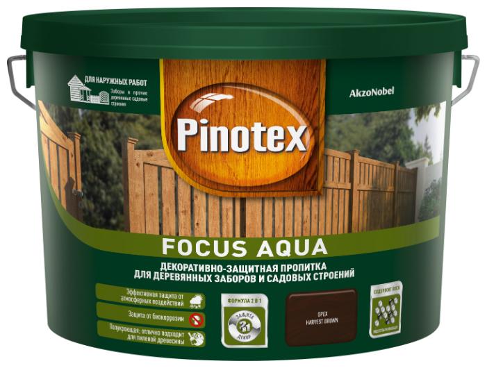 Биоцидная пропитка Pinotex Focus Aqua