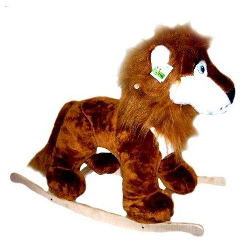 Купить Качалка Rudnix Лев (0021) коричневый, Каталки и качалки
