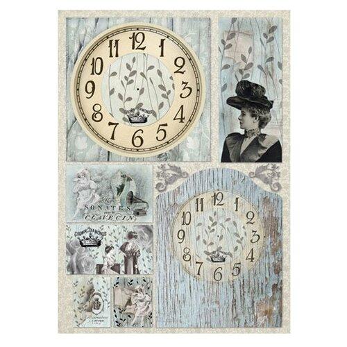 Купить Карта для декупажа Соната 50 х 70 см 1 лист, Stamperia, Карты, салфетки, бумага