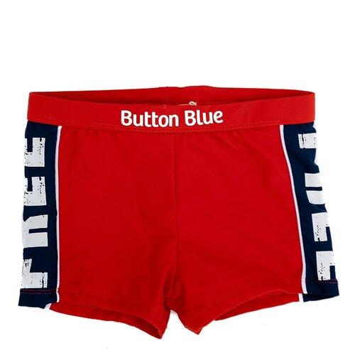 Купить Плавки Button Blue размер 98-104, красный, Белье и пляжная мода