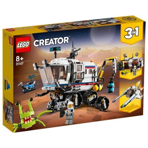 Конструктор LEGO Creator 31107 Исследовательский планетоход конструктор creator lego lego mp002xb00cac