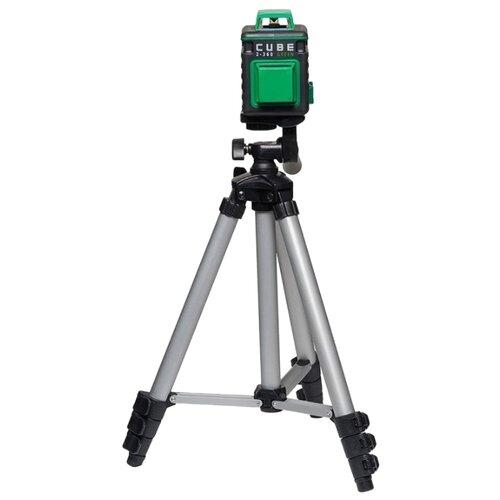 Лазерный уровень самовыравнивающийся ADA instruments CUBE 2-360 Green Professional Edition (А00534) со штативом графический планшет wacom intuos pro 2 medium paper edition
