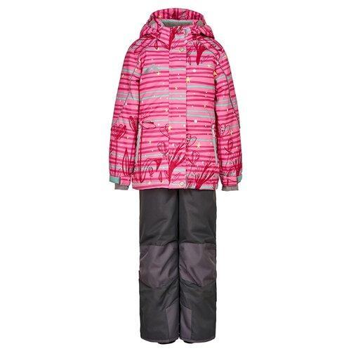 Комплект с полукомбинезоном Oldos Мэгги AAW202T1SU13 размер 86, розовый/серый/темно-серый комплект с полукомбинезоном manudieci 1937475 размер 110 серый черный