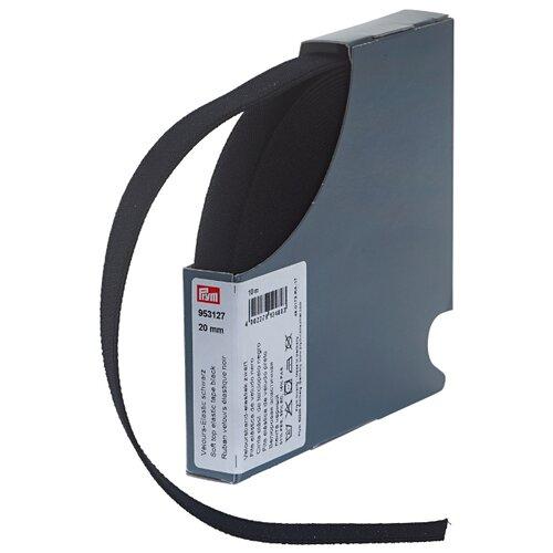 Купить Prym Велюровая эластичная лента (953127), черный 2 см х 10 м, Технические ленты и тесьма