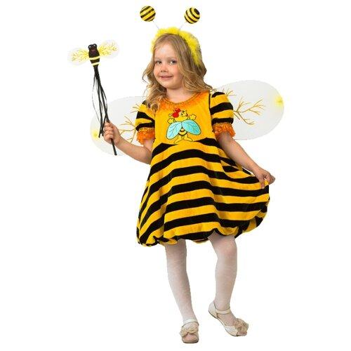 Костюм Батик Пчелка (5130), желтый/черный, размер 104, Карнавальные костюмы  - купить со скидкой