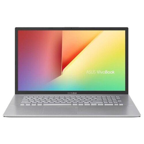 Купить Ноутбук ASUS VivoBook 17 F712FA-BX271T (Intel Core i3 8145U 2100MHz/17.3 /1600x900/4GB/500GB HDD/DVD нет/Intel UHD Graphics 620/Wi-Fi/Bluetooth/Windows 10 Home) 90NB0L61-M03360 серебристый