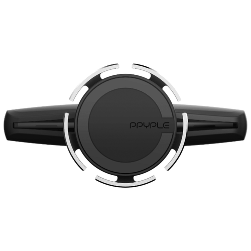 Магнитный держатель Ppyple CDView-M+ черный/серебристый