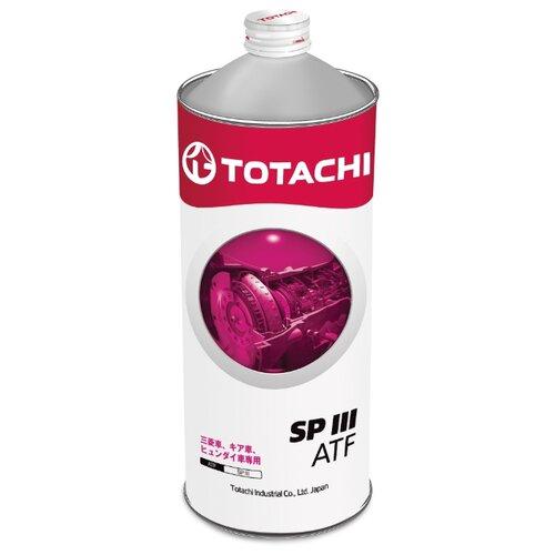 Фото - Трансмиссионное масло TOTACHI ATF SP III 1 л 1 кг totachi масло totachi atf dexron vi
