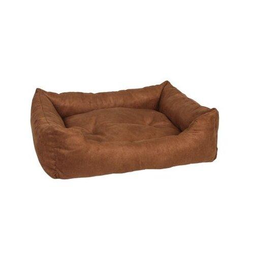 Лежак для собак PRIDE Ранчо 70х60 см коричневый