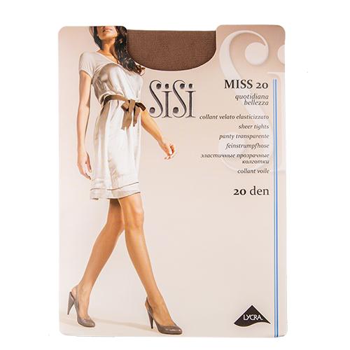 Фото - Колготки Sisi Mia, 20 den, размер 5-MAXI XL, miele (коричневый) колготки sisi fascino 20 den размер 5 maxi xl miele бежевый