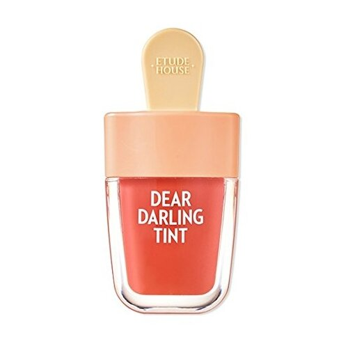 Etude House Тинт для губ гелевый Dear Darling Water Gel Tint Ice cream, OR205 apricot red цена 2017