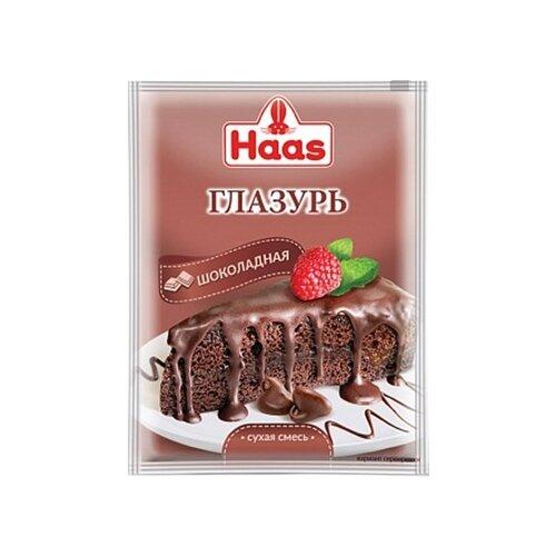 Фото - Haas Глазурь шоколадная 75 г желатин пищевой haas 10 г