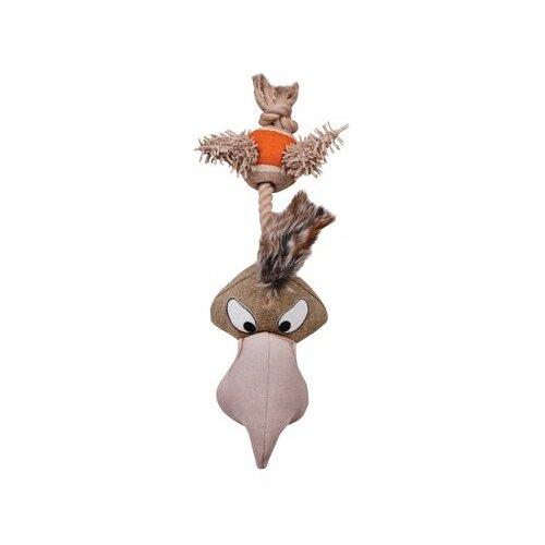 Игрушка для собак DEZZIE Курица (5640004) коричневый