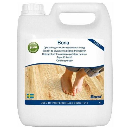 Средство для мытья полов покрытых лаком (очистка, уборка) Wood Floor Cleaner 4 л. бытовая химия
