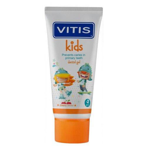 Купить Зубной гель VITIS Kids 2+, 50 мл, Гигиена полости рта