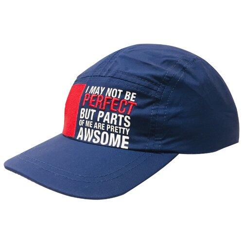 Купить Бейсболка Be Snazzy размер 50, темно-синий, Головные уборы