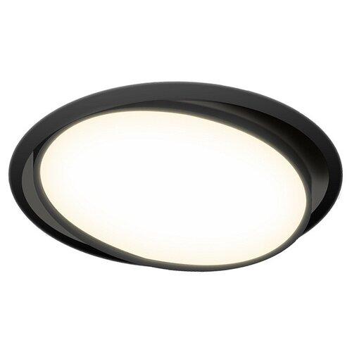 Встраиваемый светильник Donolux DL18813/9W Black R бра donolux w110218 2grey