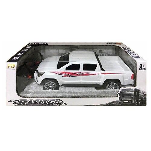 Купить Внедорожник China Bright Pacific 200650250 1:16 26 см белый, Радиоуправляемые игрушки