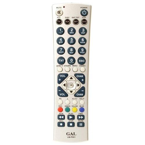 цена на Универсальный пульт ДУ GAL LM-P001 серый